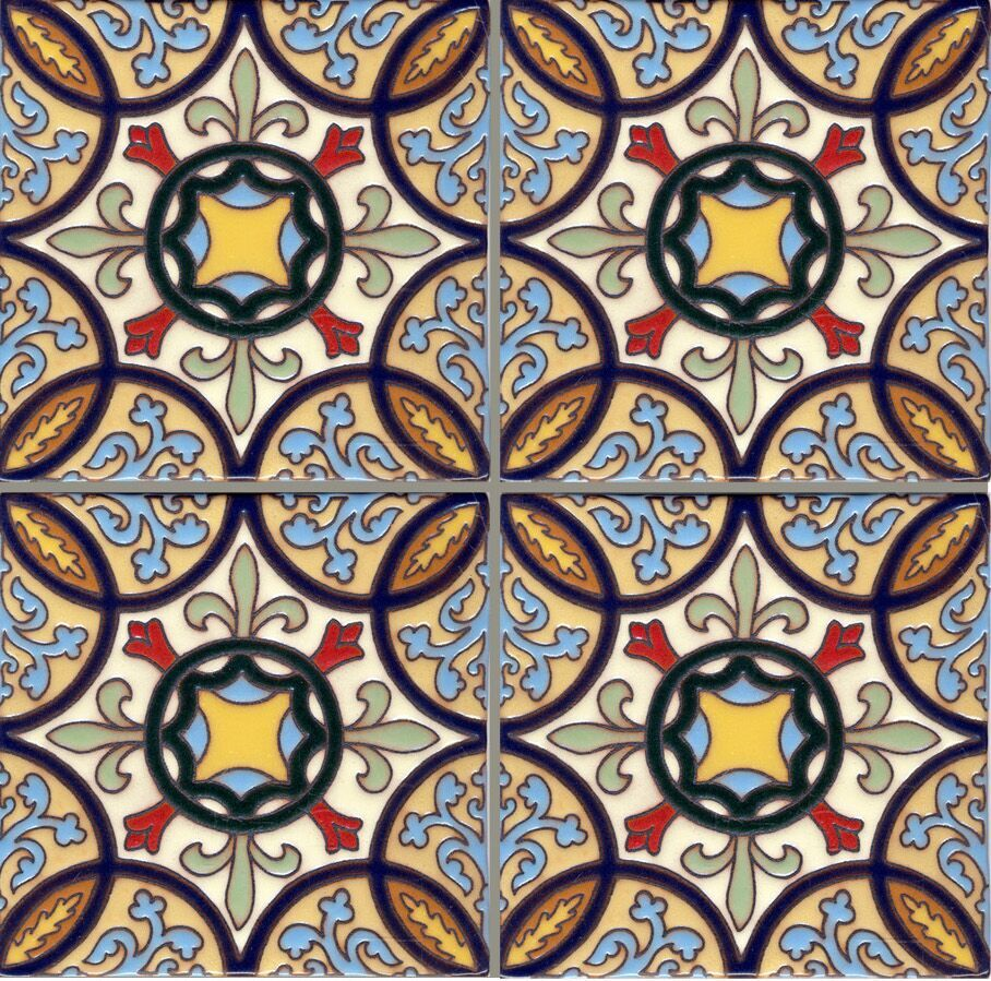 Native Filmore Clark Artisan Tile