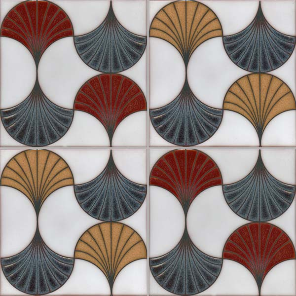 Interlaced Leaves filmore clark tile