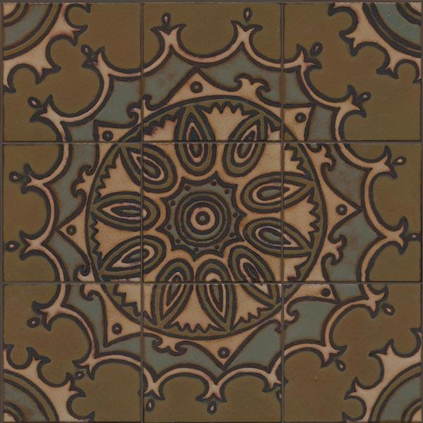 Mandala Mural Cast Iron